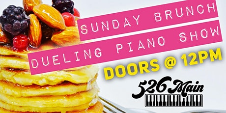 Sunday Brunch Dueling Piano Show March 1st tickets