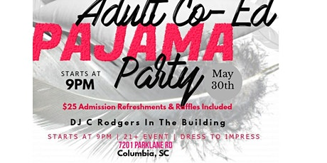 ADULT COED PAJAMA PARTY tickets