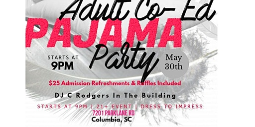 ADULT COED PAJAMA PARTY