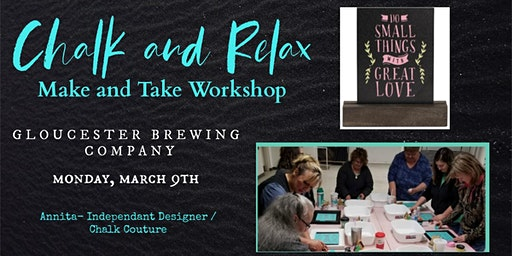 Chalk and Relax - Make and Take Workshop