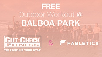 FREE Total Body Workout @ Balboa Park