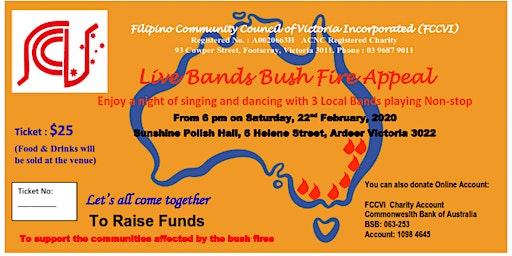 Live Bands Bush Fire Appeal
