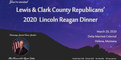 Lewis & Clark County 2020 Lincoln Reagan Dinner