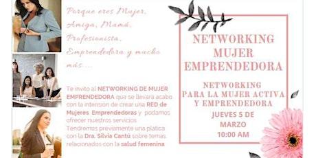 NETWORKING MUJERES EMPRENDEDORAS boletos