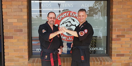 2020 Adults & Advanced Kids Kenpo Karate Seminar with Graham Lelliott - all the way from America! tickets