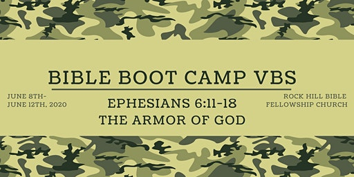 Bible Boot Camp VBS