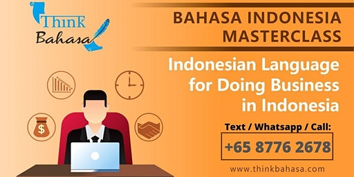 Learn Indonesian in Singapore (FREE TRIAL class)