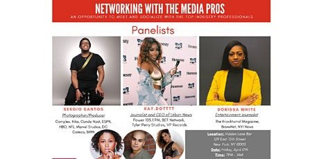 Networking with the Media Pros tickets