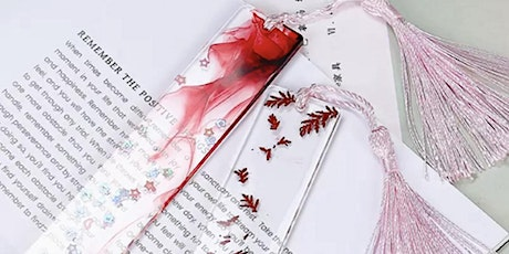 Unique Resin Bookmarks Workshop tickets