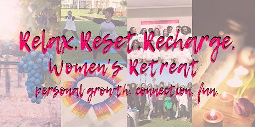 Relax. Reset. Recharge. Women's Retreat 2020