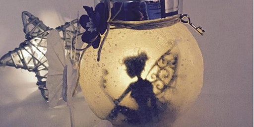 Glowing Fairy Lantern Jars Workshop