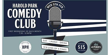 Harold Park Comedy Club tickets
