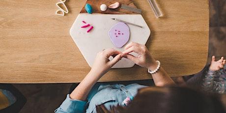 Polymer Clay Earring Workshop- Blaxland NSW tickets