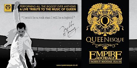 QueenEsque - Queen tribute tickets
