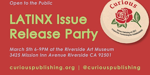 CURIOUS Magazine   Latinx Release Party