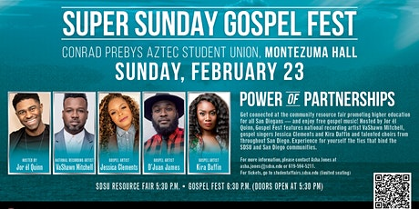 San Diego State University Super Sunday Gospel Fest tickets