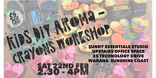 Kids DIY Aroma-Crayons Workshop
