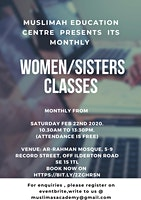 THE FIQH OF WOMEN CLASSES & COURSES