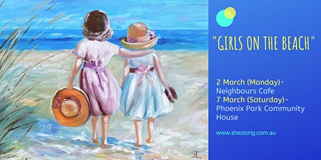 GIRLS ON THE BEACH - social painting workshop tickets