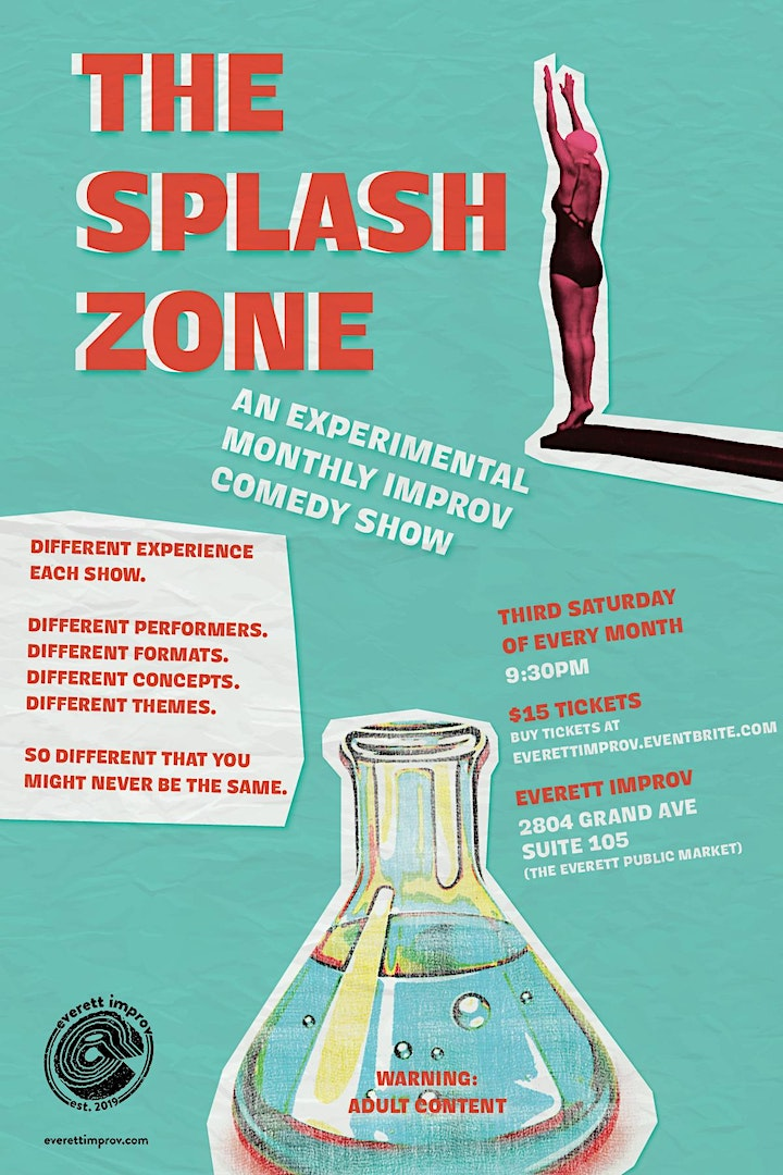 The Splash Zone - An Experimental Monthly Improv Comedy Show #eievents image