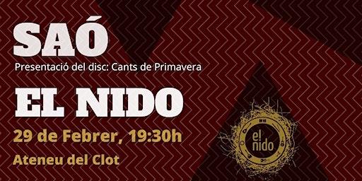 SAÓ + El Nido / Concerts a l'Ateneu