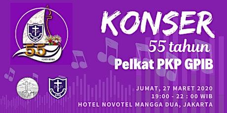 KONSER HUT KE 55 PKP GPIB tickets