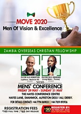 ZOCF Men's Conference tickets