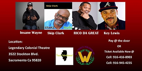 SAK TOWN COMEDY JAM tickets