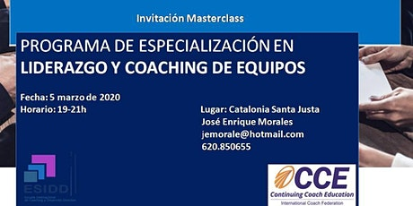 Masterclass  Gratuita Liderazgo y Coaching de Equipos.Facilitación Sitémica entradas