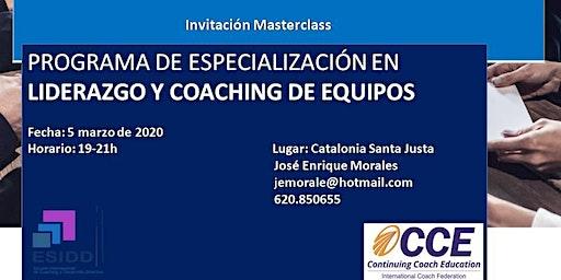 Masterclass  Gratuita Liderazgo y Coaching de Equipos.Facilitación Sitémica