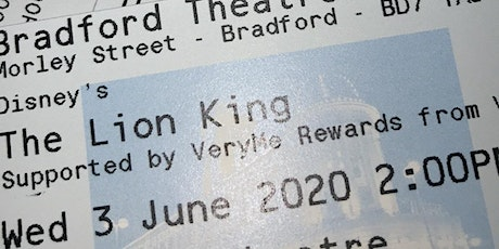 Lion king theatre tickets (bradford) tickets