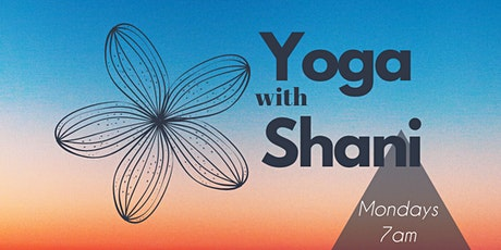 Yoga with Shani tickets