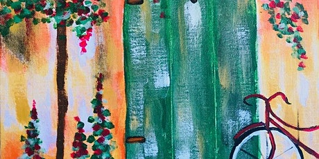 Paint Night in Canberra: Green Door tickets