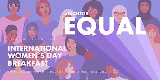 International Women's Day Breakfast 2020: Capital W, NOW, WiB, WEB