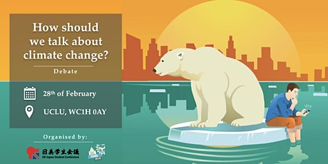 Climate Discourse Debate: How should we talk about climate change? tickets