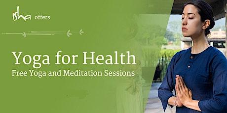 Free Isha Meditation Session - Yoga for Health tickets