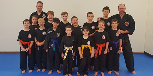 2020 Kids Kenpo Karate Seminar with Graham Lelliott - all the way from America!