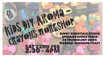 Kids DIY Aroma- Crayons workshop