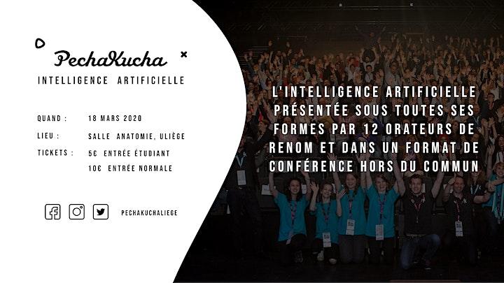Image pour PechaKucha Liège - Intelligence Artificielle