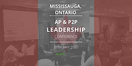 Accounts Payable & P2P Leadership Conference Canada - ACAPP tickets