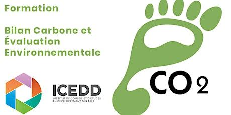 FORMATION Bilan Carbone et Évaluation Environnementale billets
