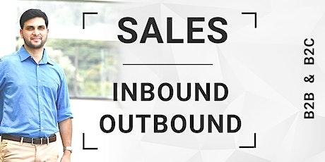 Sales Strategies Inbound & Outbound for B2B & B2C tickets