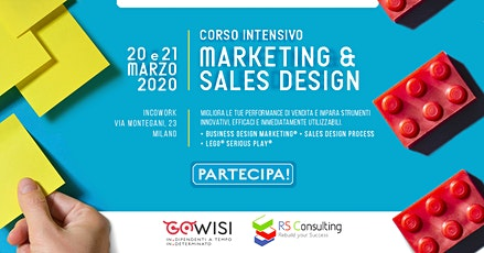 Marketing & Sales Design Intensive Program biglietti