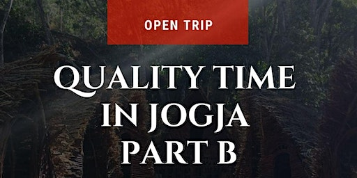 Travelling in Yogyakarta - QTIME TRIP B (1 ticket for 2 people)