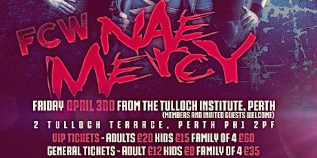 FAIR CITY WRESTLING: Nae Mercy tickets