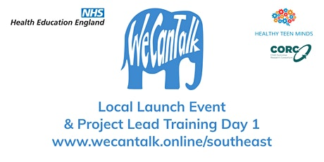 We Can Talk across Kent, Surrey & Sussex local launch event tickets