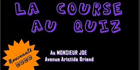 La Course au Quiz / Monsieur Joe Rennes billets
