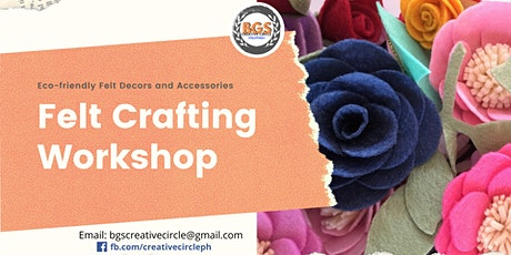 Floral Projects: Felt Crafting Workshop tickets