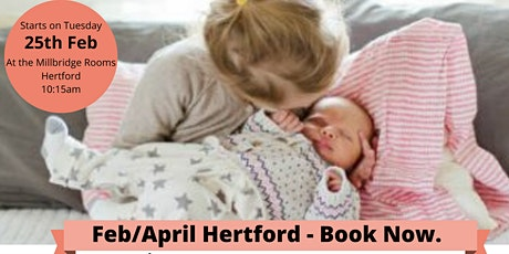 Must Do Group for Mums with New Babies - Hertford - 6 Week Social tickets