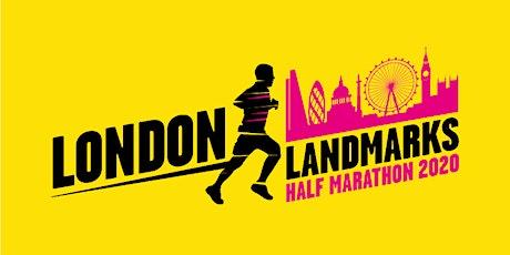 1 x London Landmark Half Marathon place must be filled today 9/2/20 tickets